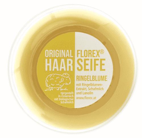 Haarseife mit Bio Schafmilch - Florex 100 g