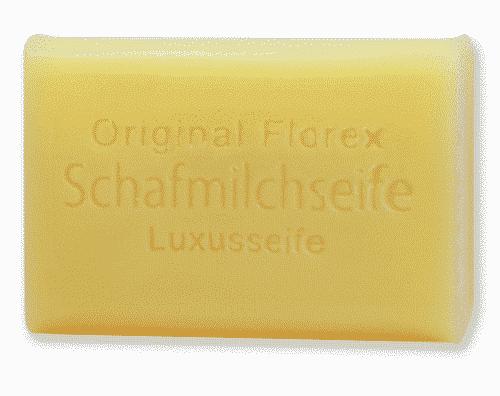 Luxus - Seife mit Bio Schafmilch - Florex 100 g
