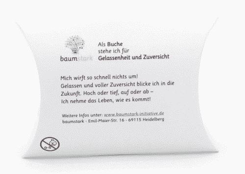 Seelenschmeichler Buche - Zuversicht - Rückseite
