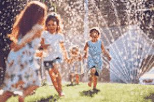 Edelstein Blauquarz - Wasserbelebung - Glück