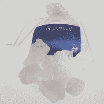 Edelstein Bergkristall - Wasserbelebung