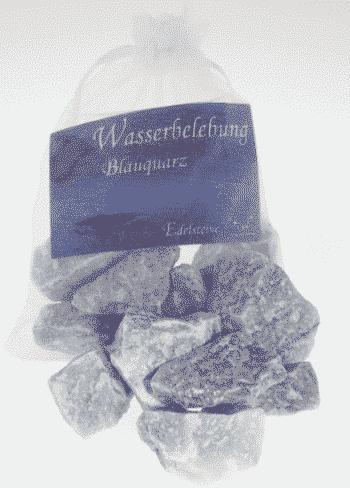 Edelstein Blauquarz - Wasserbelebung