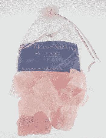 Edelstein Rosenquarz - Wasserbelebung