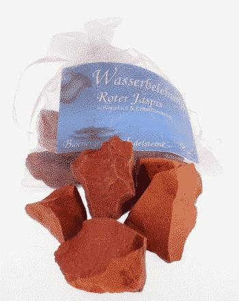Edelstein Roter Jaspis - Wasserbelebung