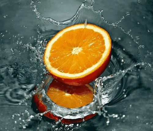 Bio Seife Kleine Träumerei mit Orangenöl und Babassuöl - Orange