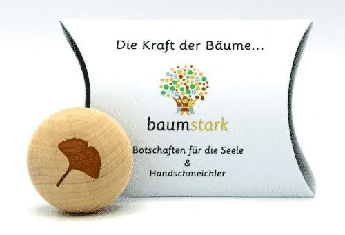 Seelenschmeichler Gingko - Gesundheit - Geschenk - Holz