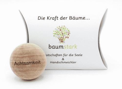 Seelenschmeichler Platane - Achtsamkeit - Holz - Geschenk