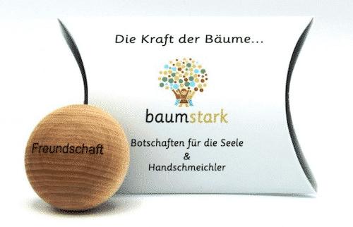 Seelenschmeichler Linde - Freundschaft - Holz - Geschenk