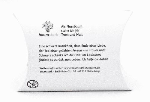 Seelenschmeichler Nußbaum - Trost & Halt - Rückseite