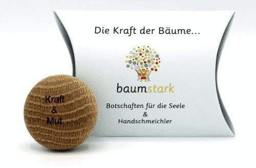Seelenschmeichler Eiche - Kraft & Mut - Geschenk - Holz