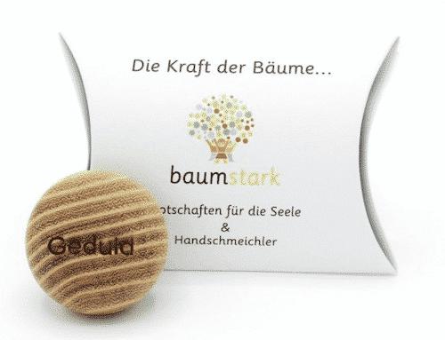 Seelenschmeichler Robinie - Geduld - Holz - Geschenk