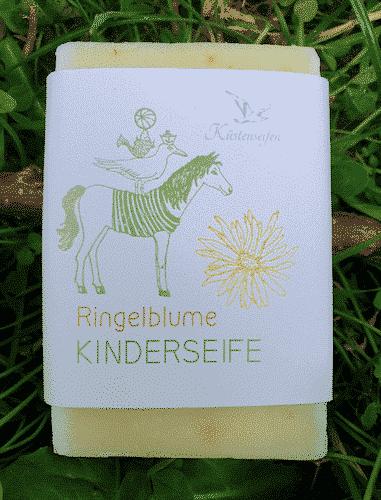Bio Seife Ringelblume für Kinder - Küstenseife 80 g
