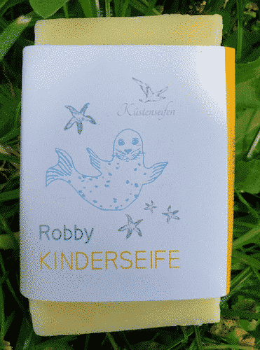 Bio Seife Robby für Kinder - Küstenseife 80 g
