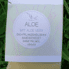 Bio Seife ALOE mit Aloe Vera - Küstenseife 80 g