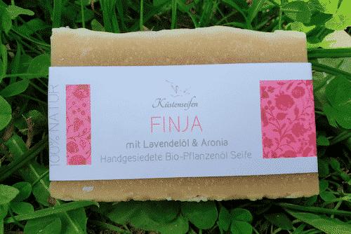 Bio Seife FINJA mit Lavendel & Aronia