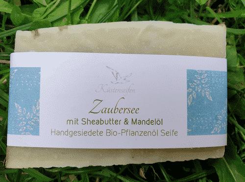 Bio Seife Zaubersee mit Fichtennadelöl & Rosmarin - Küstenseife 80 g