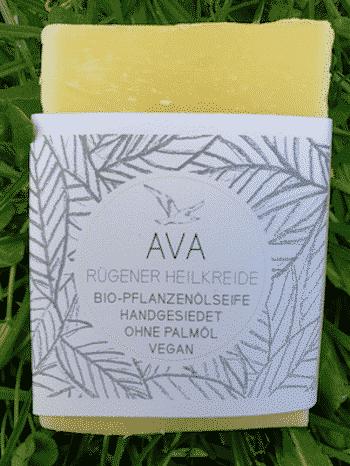 Bio Seife AVA mit Rügener Heilkreide - Küstenseife 80 g