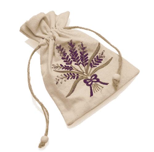 """Sack """"Lavendel"""" - feinmaschig - Ovis 13 x 17 cm"""