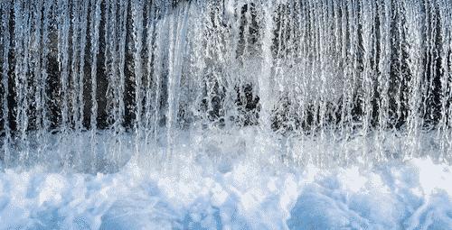 Trommelstein zur Wasserbelebung - Blauquarz - Bild 1