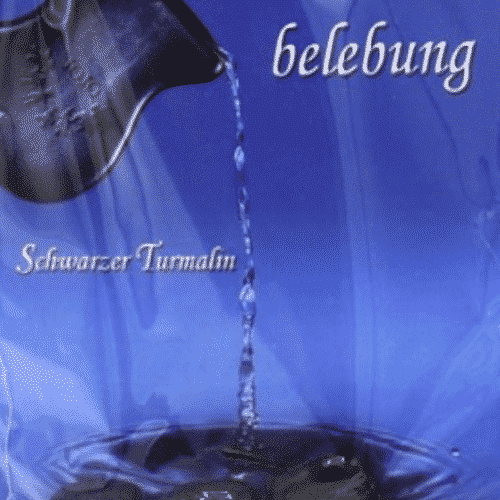 Trommelstein zur Wasserbelebung - Schwarzer Turmalin