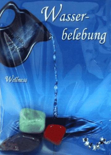 Trommelstein zur Wasserbelebung - Wellness