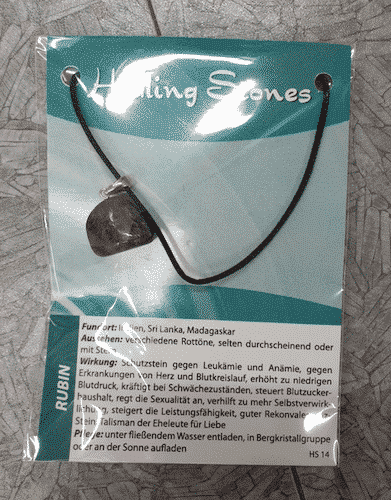 Edelsteinkette Rubin - Healing Stones