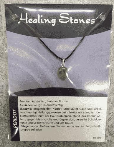 Edelsteinkette Peridot - Healing Stones