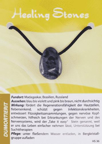 Edelsteinkette Dumortierit - Healing Stones