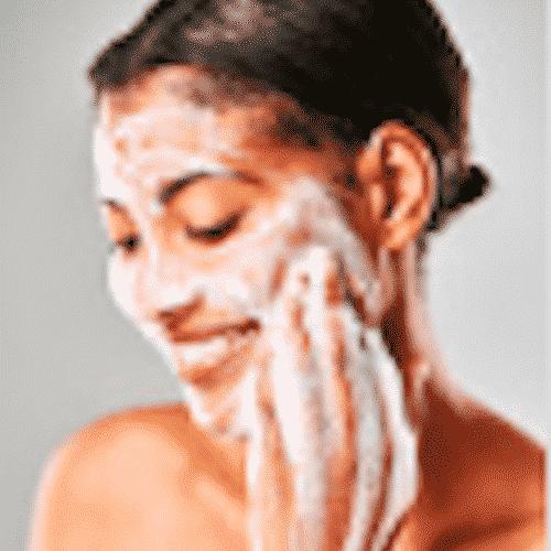 Seife mit Peeling Effect