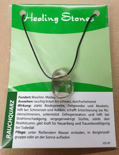 Edelsteinkette Rauchquarz - Healing Stones