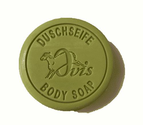 Duschseife mit Zeder und Zitrone - Ovis 100 g - tolle Geschenkidee - ohne Plastik