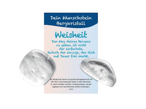 Dein Wunschstein Bergkristall - Weisheit - Bild 2