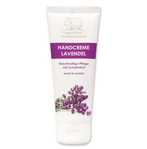 Handcreme mit bio Schafmilch und Lavendel - Florex 75 g