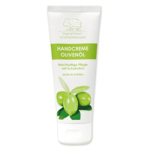 Handcreme mit bio Schafmilch und Olivenöl - Florex 75 ml
