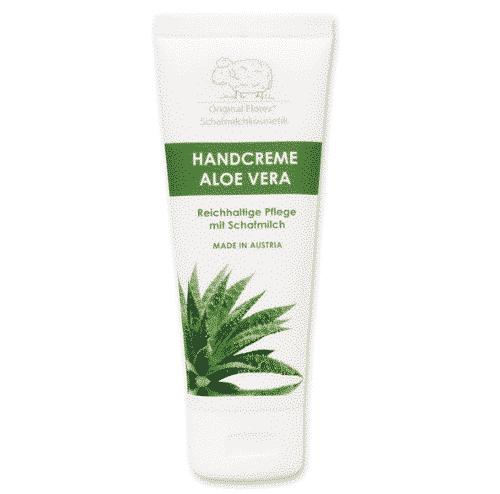 Handcreme mit bio Schafmilch und Aloe Vera - Florex 75 ml