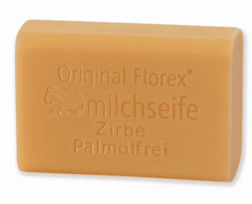 Palmölfreie Schafmilchseife Zirbe - Florex 100 g