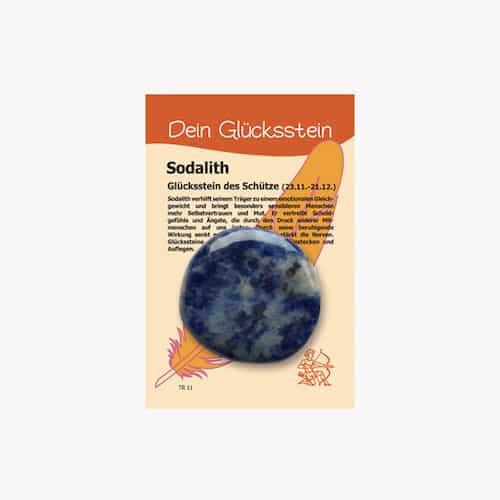 Edelstein Sodalith für Sternzeichen Schütze - Dein Glücksstein