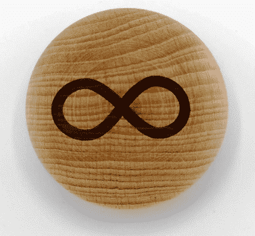 Handschmeichler Unendlichkeit - unverpackt - Baumstark Initiative - Holz