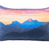 Zirbenkissen Berge - Tiroler Zirbenkissen - 30 cm x 20 cm - Deko