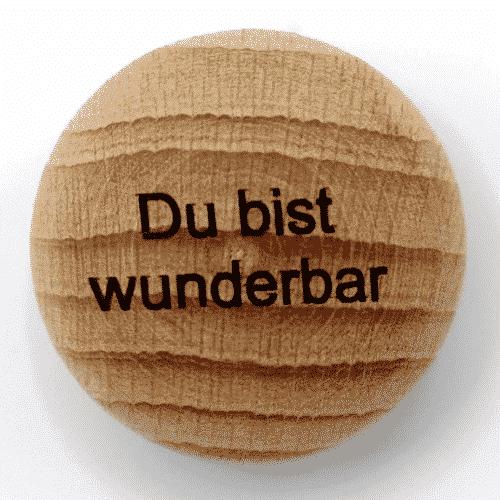 Handschmeichler Du bist wunderbar - unverpackt - Baumstark Initiative - Geschenk