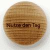 Handschmeichler Nutze den Tag - unverpackt - Baumstark Initiative - Geschenk aus Holz