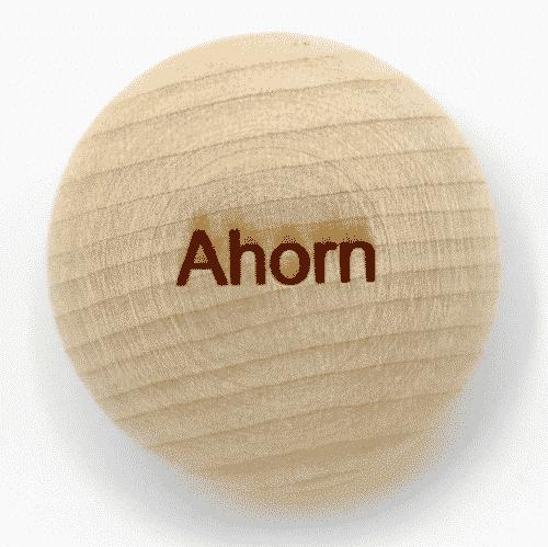 Handschmeichler Ahorn - Lieblingsbaum - Baumstark Initiative - Geschenk aus Holz