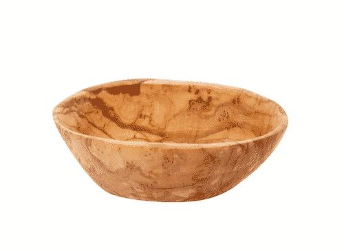 Schale aus Olivenholz - Dipschale - 12 x 4 cm - Holz