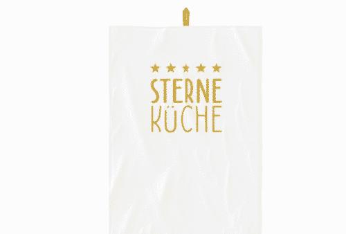 Geschirrtuch - Sterne - 100% Baumwolle - 50 x 70 cm