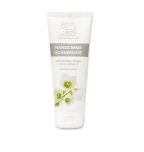 Handcreme mit bio Schafmilch und Schneerose - Florex 75 ml