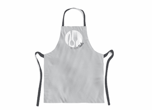 Schürze mit Leib & Seele - Kochschürze aus 100% Baumwolle