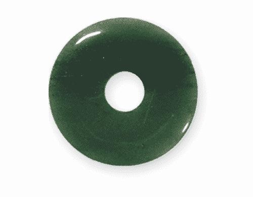 Donut aus Aventurin für Sternzeichen Krebs - Edelsteinanhänger