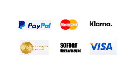 Zahlungsarten Logos 2