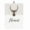 Geschirrtuch - Heimat - 100% Baumwolle - 50 x 70 cm