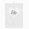 Geschirrtuch - Mit Liebe - 100% Baumwolle - 50 x 70 cm - Küche - Handtuch
